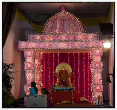 Ganesh pandal