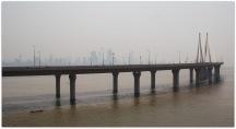 Mumbai : Worli Sea Link