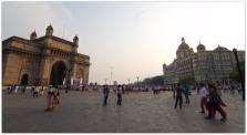 Mumbai : Gateway of India and Hotel Taj