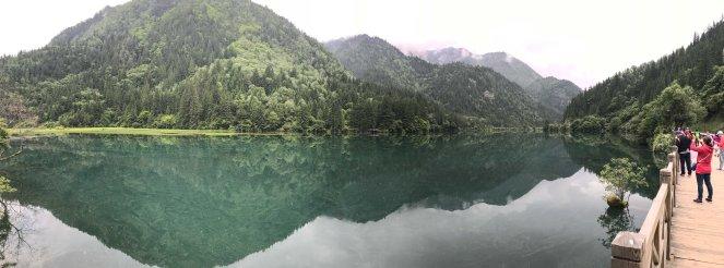 Arrow Bamboo lake Jiuzhaigou