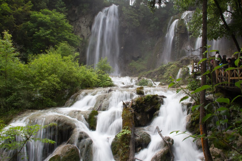 Panda Waterfall , Jiuzhaigou